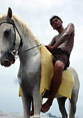 Naked men with their horses, foto 9, hot rider SAM.